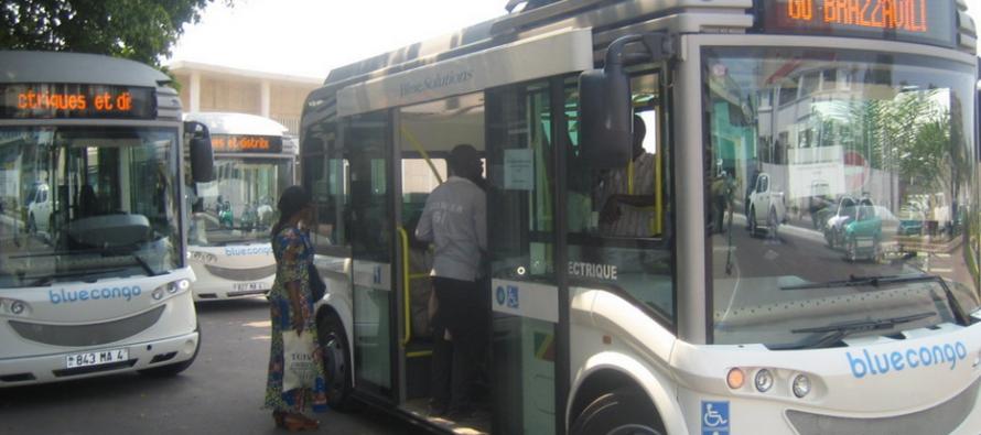 Brazzaville : du Wifi gratuit dans les bus Blue Congo de Bolloré