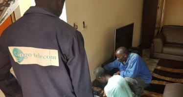 Congo : La connexion des ménages à la fibre optique a démarré à Brazzaville