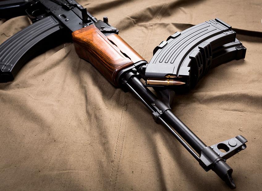 Un AK 47