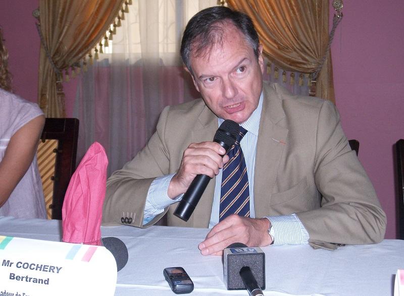 """[GARD align=""""center""""] Bertrand Cochery nommé ambassadeur à Brazzaville"""