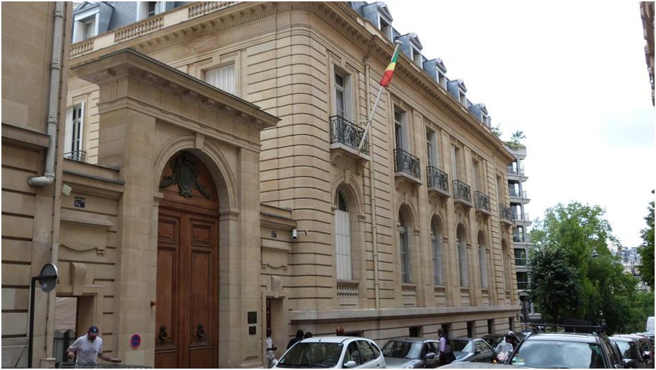 L'ambassadeur du Congo à Paris|©DR