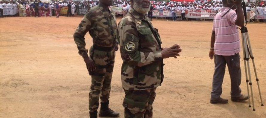 Le général Nianga Mbouala est à Brazzaville
