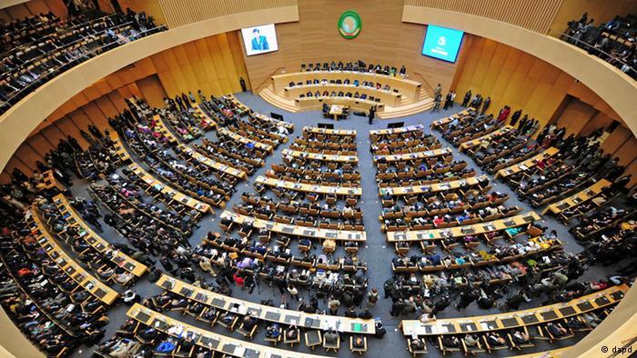 Sommet de l'Union africaine à Addis Abeba en 2012