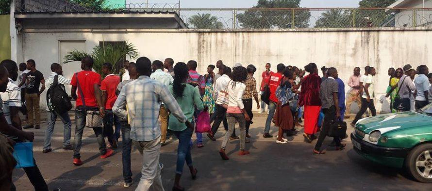 Congo – Brazzaville : Une manifestation des étudiants dispersée par la police à Bayardelle