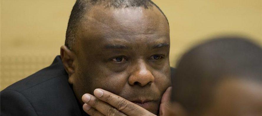 La CPI condamne le Congolais Jean-Pierre Bemba à 18 ans de prison