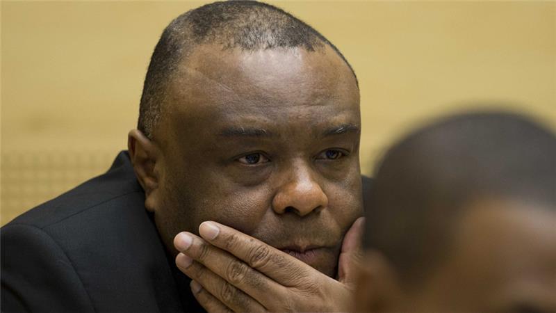 l'ancien vice-président congolais Jean-Pierre Bemba