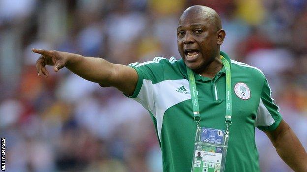 L'ancien sélectionneur nigérian Stephen Keshi