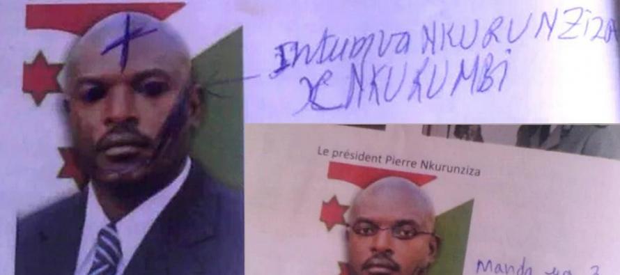 Plus de 300 collégiens renvoyés au Burundi pour avoir griffonné sur une photo du président