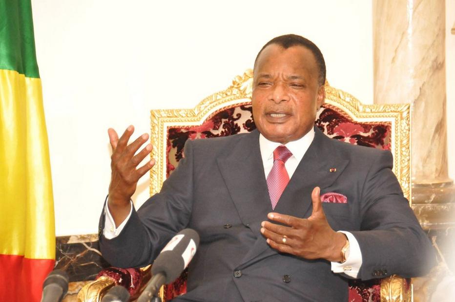 Le président congolais, Denis Sassou N'Guesso