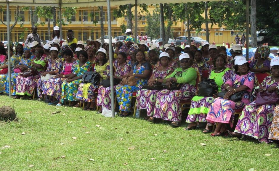Les femmes du Centre hospitalier et universitaire de Brazzaville (CHU-B) - Image d'archive|© DR