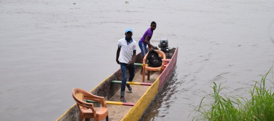 Congo : La traversée par pirogue toujours suspendue sur la rivière Djoué