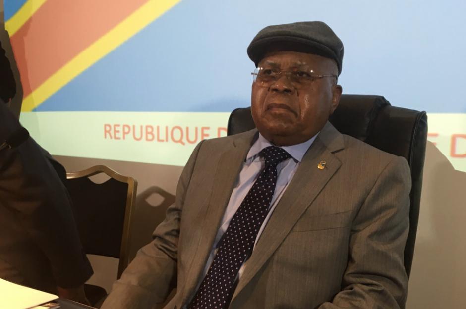 L'opposant historique congolais Etienne Tshisekedi, à Bruxelles 08 JUIN 2016