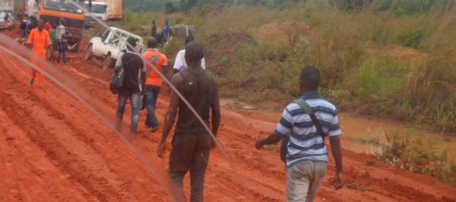 Congo : La route Kinkala-Mindouli sous la menace dai??i??un arrA?t dAi??finitif ?