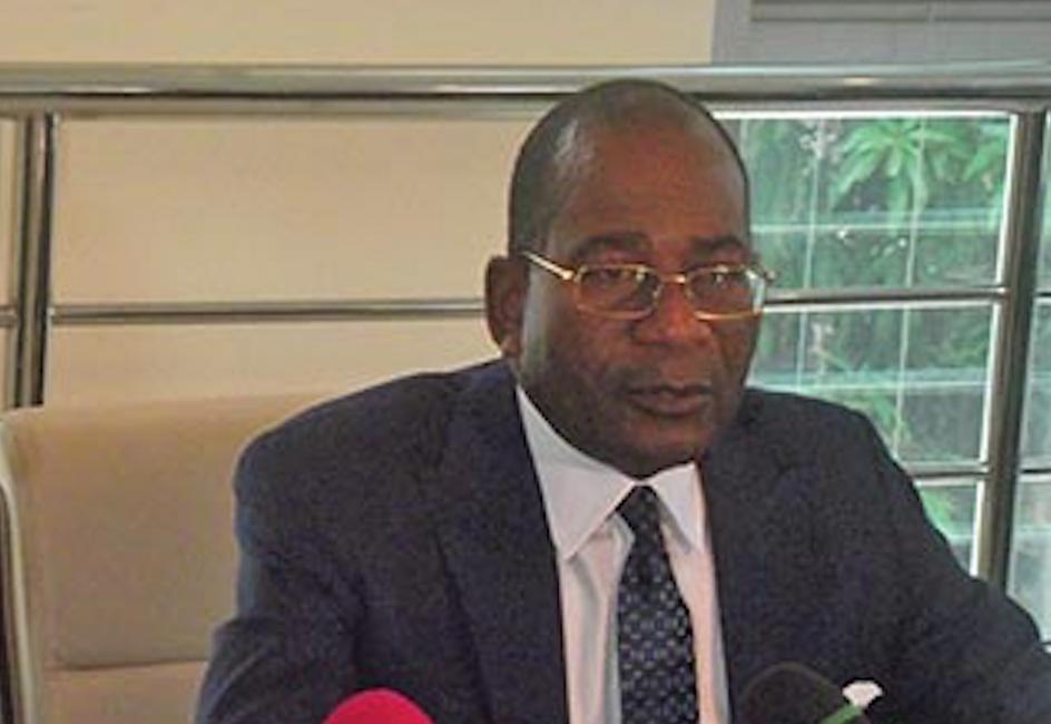 Le ministre de la Justice, des droits humains et de la promotion des peuples autochtones, Pierre Mabiala