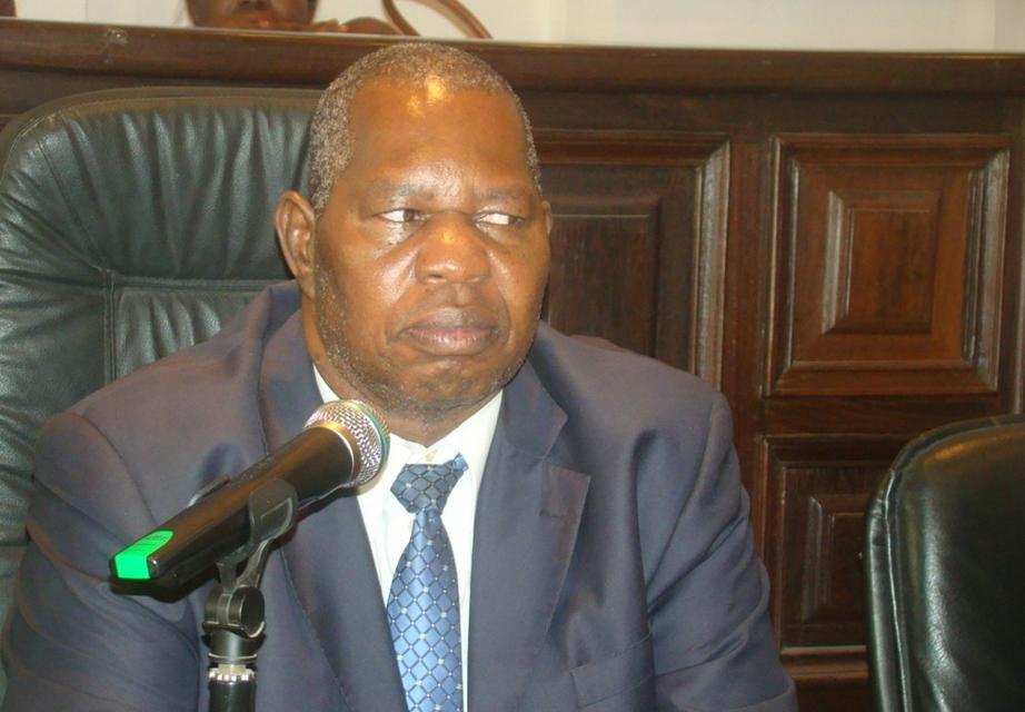 le président de la Caresco, Yves Bernard Mahoungou Massila