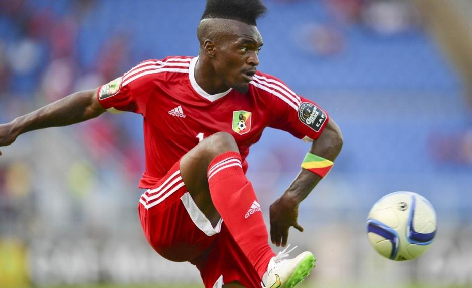 L'attaquant congolais Thievy Bifouma
