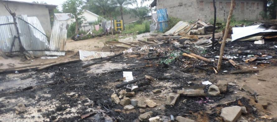 Congo – Incendie : trois enfants calcinés à Ewo