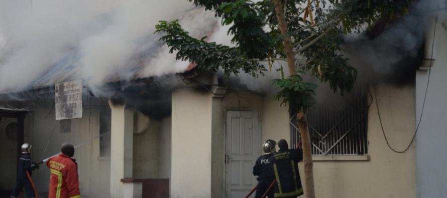 Congo : d'importants dégâts matériels dans l'incendie d'un lycée de Brazzaville