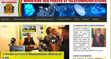 Congo : lancement du portail web du ministère des postes et télécommunications