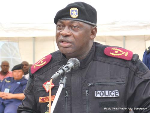 Le général Célestin Kanyama, chef de la police congolaise à Kinshasa. © DR
