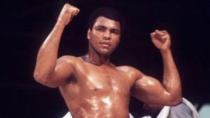 Mohamed Ali, au Championnat du monde en 1976. Crédits photo : 1857552/Imago / Panoramic