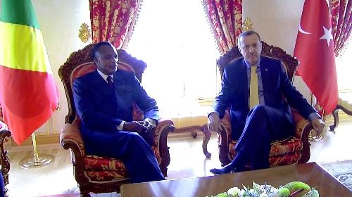 LeS présidents Denis Sassou Nguesso et Recep Tayyip Erdoğan - Image d'archive| © DR