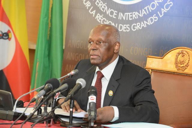 Le chef de l'Etat Angolais, José Edouardo Dos Santos