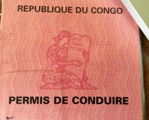 permis de conduire à Brazzaville