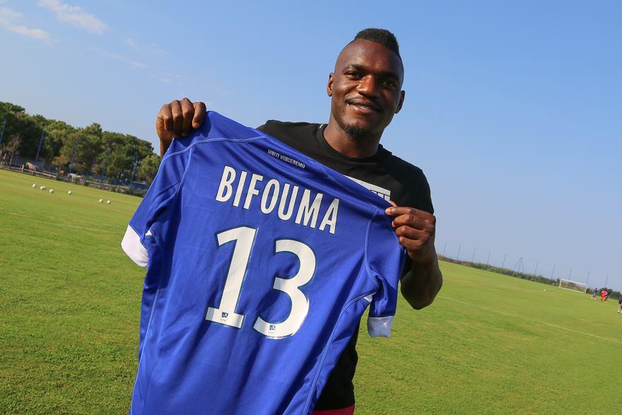 Thievy Bifouma signe à Bastia