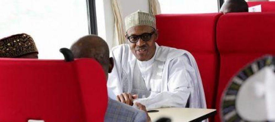 Nigeria : le président Buhari inaugure le 1er Train à Grande Vitesse de l'Afrique de l'Ouest