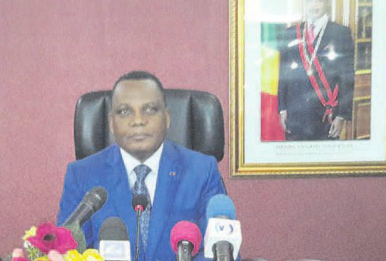 Le ministre des Affaires étrangères, de la coopération et des Congolais de l'étranger, Jean Claude Gakossso