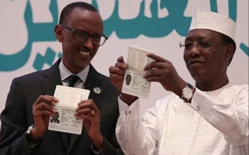 Union africaine : lancement du premier passeport africain