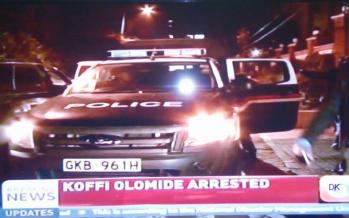 URGENT – L'arrestation de Koffi Olomide par la police kényane