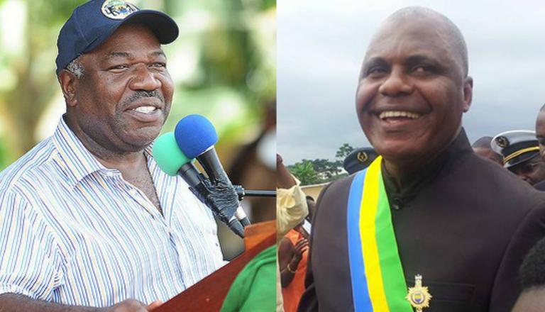 Ali Bongo Ondimba et Bertrand Zibi Abeghe