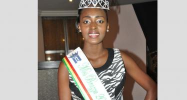 Carus Meheille Ahoué élue miss Brazza 2016