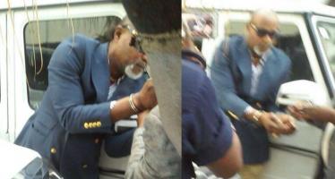 EN IMAGES – Agression de la danseuse: malgré des excuses, Koffi Olomidé arrêté ce matin à Kinshasa