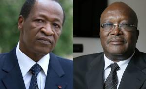 Roch Kaboré et Blaise Compaoré