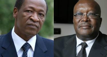 Le président burkinabé, Roch Kaboré s'est entretenu au téléphone avec Blaise Compaoré en Côte d'Ivoire