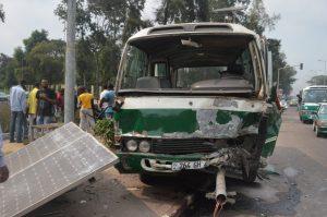 accident a Brazzaville