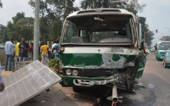 Congo : plus de 14.000 accidents de la route en cinq ans