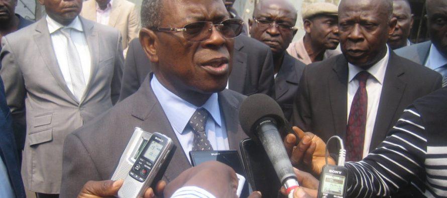 Congo : le ministre des Transports satisfait des travaux de réfection du port de Brazzaville