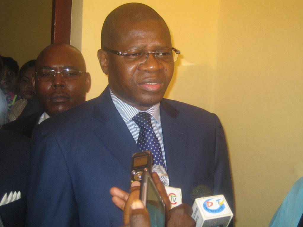 le directeur général des impôts et domaines, Antoine Ngakosso.