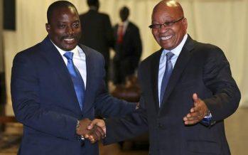 Afrique du Sud : Jacob Zuma choisit Joseph Kabila «pour l'instant»