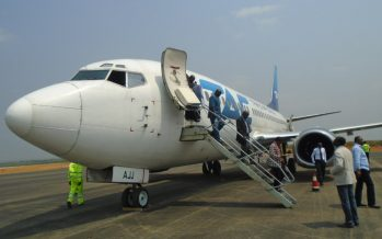Congo : l'aéroport de Nkayi a accueilli son premier vol