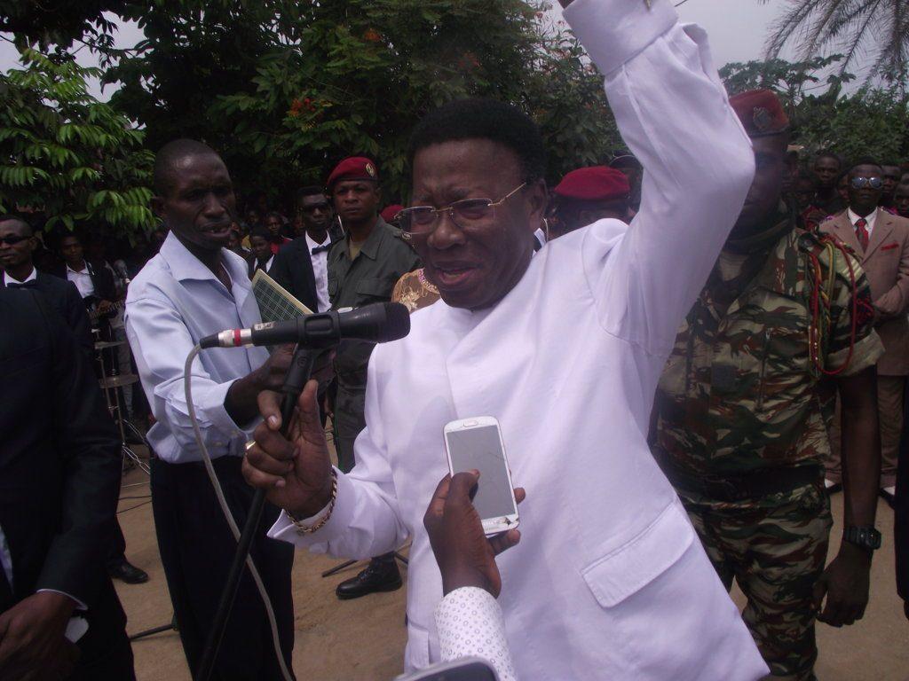 Le préfet de la Likouala, Gilbert Djombo Bomodjo