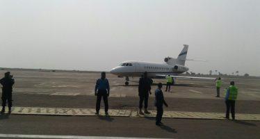EN IMAGES – RDC : l'avion d'Etienne Tshisekedi vient d'atterrir