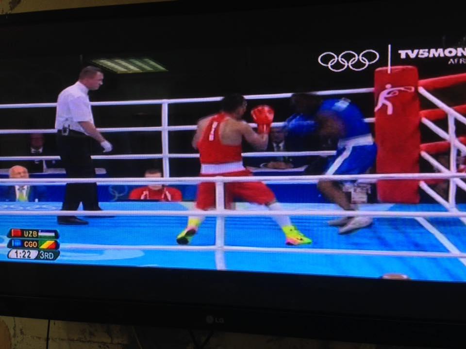 Rio 2016, Malonga Dzalamou sorti sur KO par l'Ouzbek Gaibnazarov