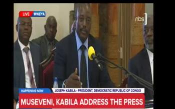 VIDÉO – RDC : Joseph Kabila: « le Président n'organise pas les élections »