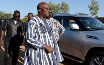 Le président du Burkina Faso, Roch Kaboré en visite chez Denis Sassou Nguesso