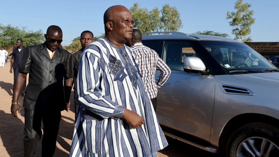 Le président du Burkina Faso, Roch Kaboré